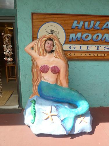 Erica is a pretty mermaid