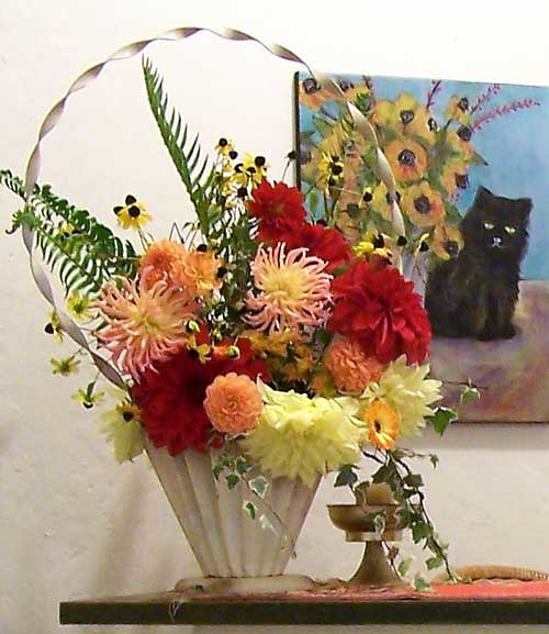 Open Studio Bouquet from Mom's Garden