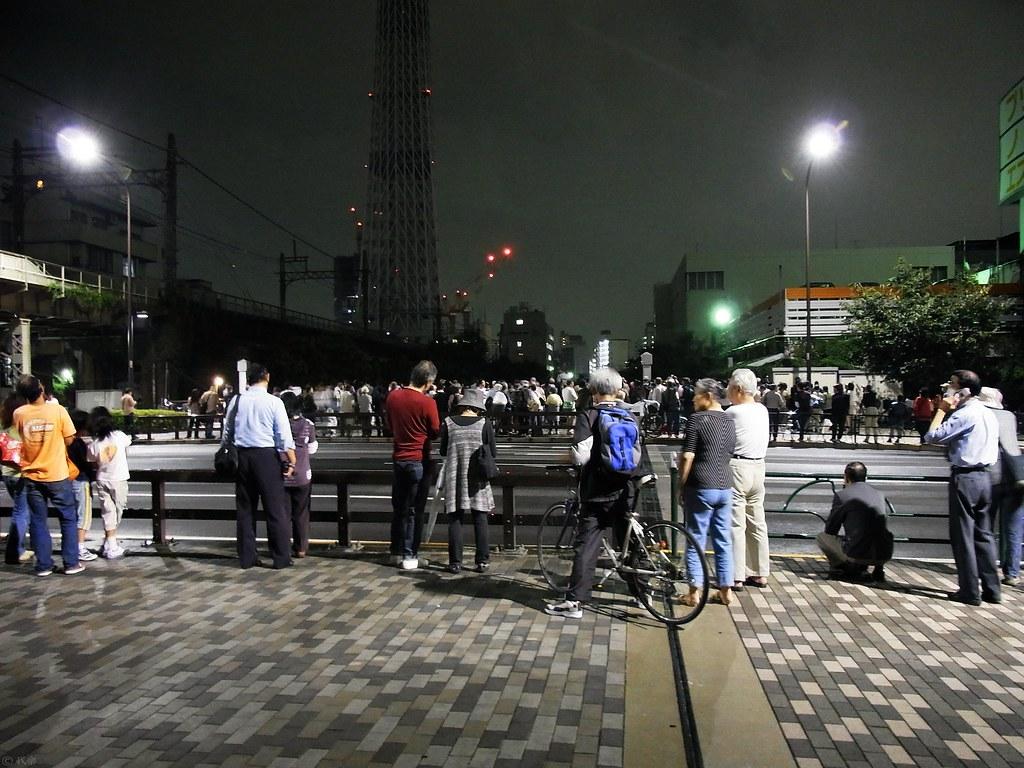 Tokyo sky tree lighting test #1