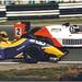 Laurent Aïello DAMS Lola T91/50 Mugen & Giuseppe Bugatti Il Barone Rampante Reynard 91D Mugen F3000 . International F3000 Championship Brands Hatch 1991.