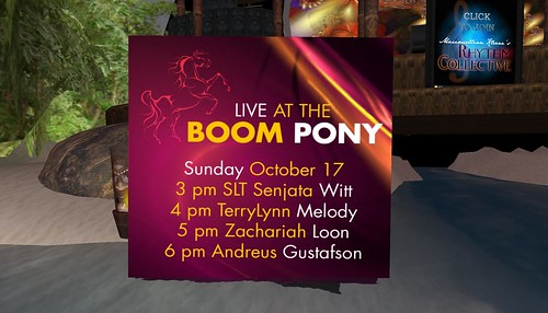 boom pony music club schedule