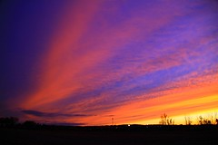 Mid-October Sunset (PhotoDocGVSU) Tags: sunset colors wow amazing octobersunset kentwoodmi