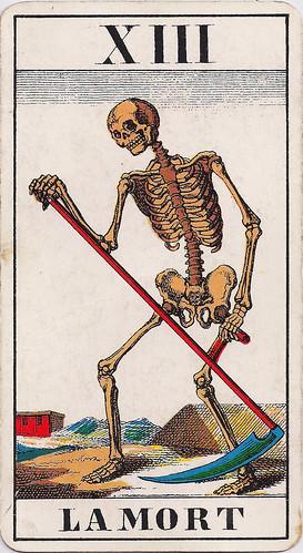 carte tarot signification la mort