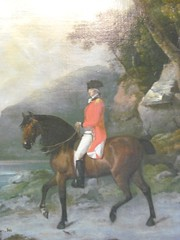 A Horseman Riding By (charleygirl_77) Tags: portrait art eighteenthcentury