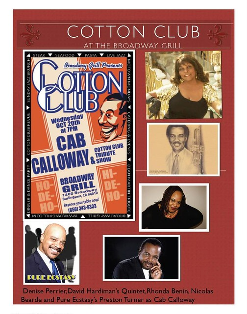 Cotton Club Review @ Broadway Grill