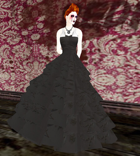 Gothic Wedding Gown - Freebie