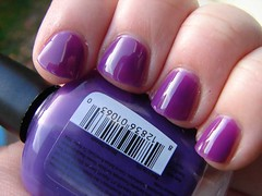 Piggy Polish Fear Less (PuckLizardRN) Tags: purple creme jelly nailpolish fearless piggypolish