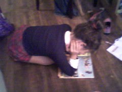 Reading on the Floor