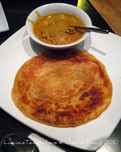 Roti Prata with Chicken Curry - Sedap, Old Street