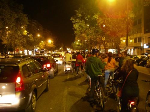 Massa Crítica de Lisboa de Outubro 2010