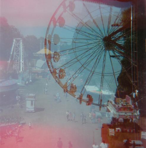 ferris wheel and fair