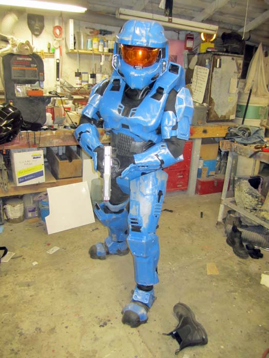 Armor Shawn & When My Brain Leaks the Drops Drip Here.: My HALOween Project is ...