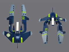 Yak VV (Fredoichi) Tags: fighter lego space shooter shootemup starfighter gradius shmup vicviper novvember fredoichi nnovvember