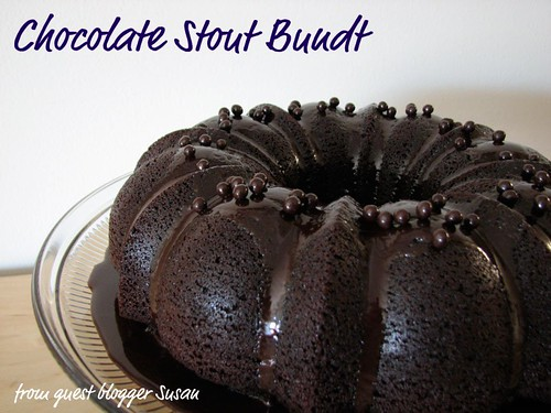 Photo taken by @Waffles of Chocolate Stout Bundt