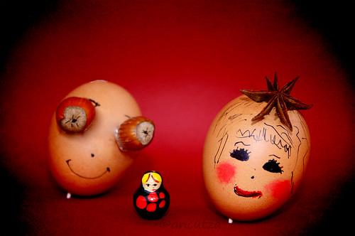 la Matrioska e le uova divertenti