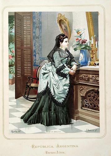 006-Republica Argentina-Buenos Aires-Las Mujeres Españolas Portuguesas y Americanas 1876-Miguel Guijarro
