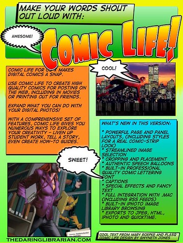 comic life at a glance ... comic format for printing
