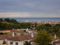 Maravillosas vistas al mar del Albir