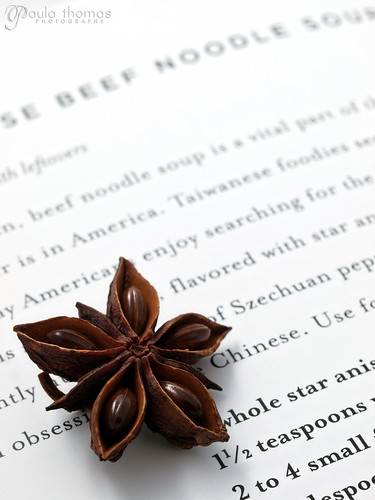 Star Anise on Recipe