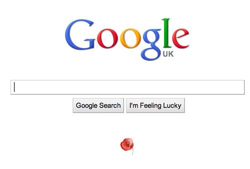 Google Poppy Logo 2010