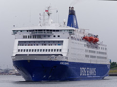 King Seaways (kate&drew) Tags: 2017 june dfds ferry kingseaways tyne northshields boat ship