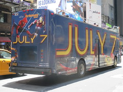 Spider-Man Homecoming Bus Ad 2017 NYC 8268 (Brechtbug) Tags: spiderman homecoming bus ad movie poster billboard 49th street 7th avenue 2017 nyc super hero marvel comic comics character spider man new york city film billboards standee theater theatre district midtown manhattan amazing home coming ads advertising yellow jacket cel phone cell mobile cellphone
