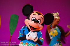 Mickey's Rainbow Luau