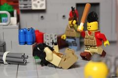 Sometimes you have to use rigid methods... (Devid VII) Tags: lego devidvii moc post apoc