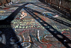 Dont Blink #2 (macromary) Tags: leicaflex 35mm elmarit colorfilm vintagecamera analog filmcamera film mechanicalcamera labrador yellowlab labradorretriever dog florida analogphotograph vintage oldflorida suwanneesprings suwanneesulphursprings suwanneecounty suwanneespringsfl suwanneespringsflorida suwanneeriver bridge graffiti inspirational inspiring velvia fujifilm colortransparencyfilm slidefilm velvia50