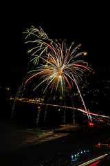 28 (morgan@morgangenser.com) Tags: pacificpalisaddes beach belairbayclub blue celebrate fireworks color iso100 july3rd loud nikon night ocean orange pch people red reflection special spectacular streaks timeexposire tripod yellow amazing