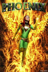 Fireworks... (Ring of Fire Hot Sauce 1) Tags: cosplay phoenix erickamorales fire flames wings wondercon