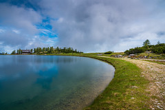 2017.06.05. Hinterstoder (Péter Cseke (mostly OFF until July 23)) Tags: hinterstoder austria europe alps alpine amazing beautiful scenery scenic nikon d750 lake water reflection mirror mountains nature landscape sky clouds summer rocks travel holiday