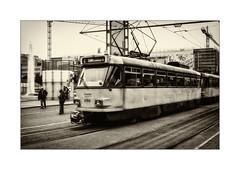 Old Style (Fujigraf) Tags: bahn sbahn leipzig osten ddr tram verkehr stadt bild strase bau elektrik