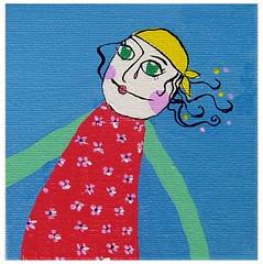 Maricota I (Coisas de Maria Shop) Tags: art painting florianpolis folklore infantil pintura quadros tela maricota brazilianart folcore boidemamo