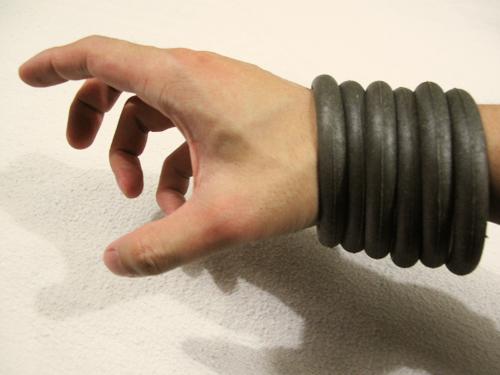 Gray bangles