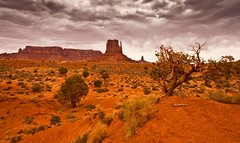 Cloudy Day At Monument Valley (Marvin Bredel) Tags: arizona southwest nature landscape utah rocks desert indian nativeamerican redrocks navajo redrock monumentvalley kayenta southwestus fourcorners americanindian oldwest americansouthwest coloradoplateau nativeamerica marvin908 lookofsouthwest marvinbredel