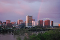 Richmond, VA at the End of the Rainbow by DnbDblAgnt