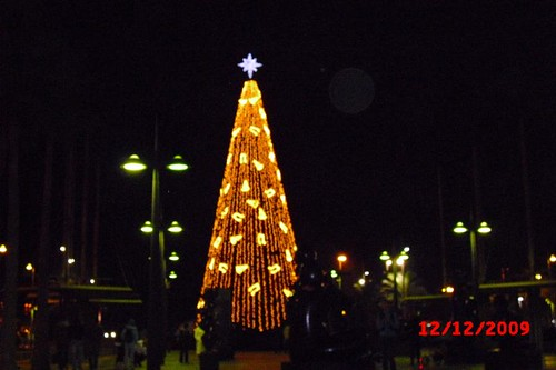 Iluminación Navidad Almería 2009