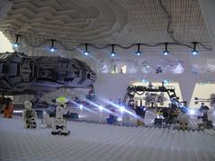 Inside view (brickplumber) Tags: starwars lego legostarwars hoth fbtb echobase