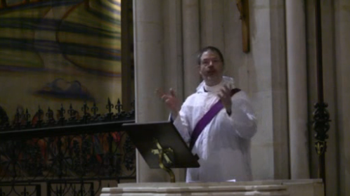 Preaching at St Mary's