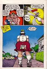 Big Ass Comics 02 / Rckseite (micky the pixel) Tags: comics comic robertcrumb undergroundcomics apexnovelties bigasscomics