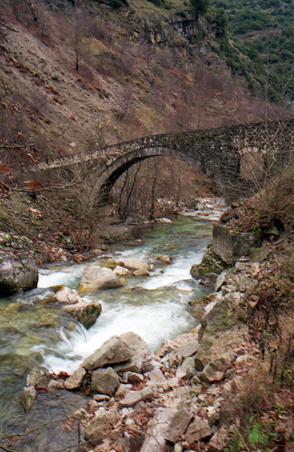 The stone bridge of Filos