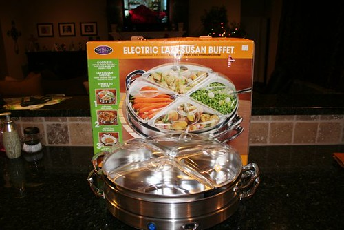 Electric Lazy Susan Buffet