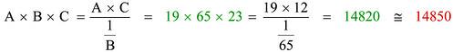 Calcolo regolo 4