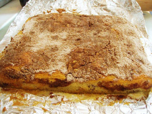 sour cream cinnamon coffee cake (cook's illustrated) - 07