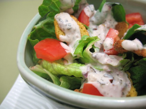 Cashew Caesar Salad Dressing
