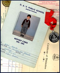 Those days . . . (IamPURPLE) Tags: old school student report scan scanned