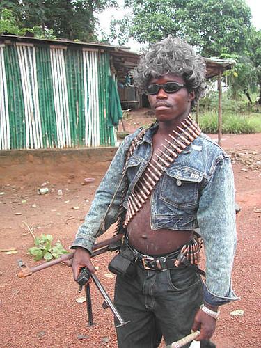Nigerian militia marijuana gangster gangsta Kalashnikov ak47 2