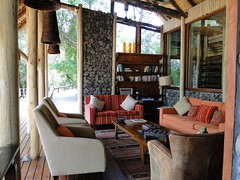 Lounge at Rhino Post Lodge