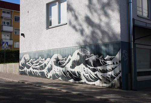 Wall painting, Savonlinna